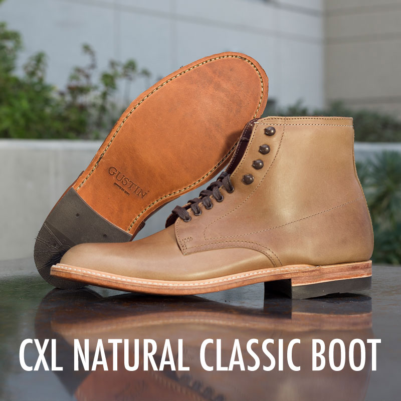 gustin classic boot natural
