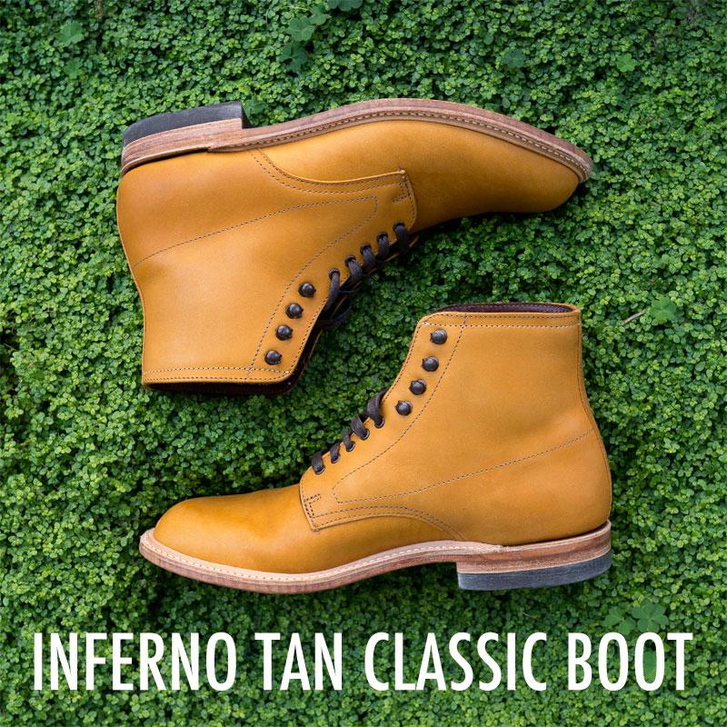 gustin classic boot tan