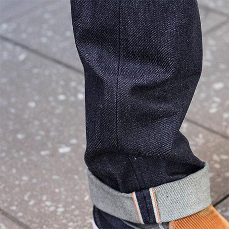 gustin cone denim mens jeans cuff