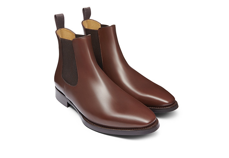 ellis chelsea boot jack erwin brown leather