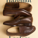 Hazelnut men's loafers