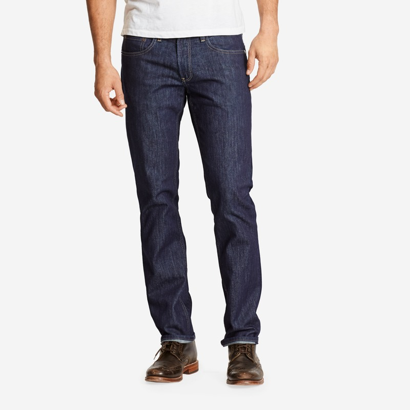 the blue jean from bonobos dark rinse