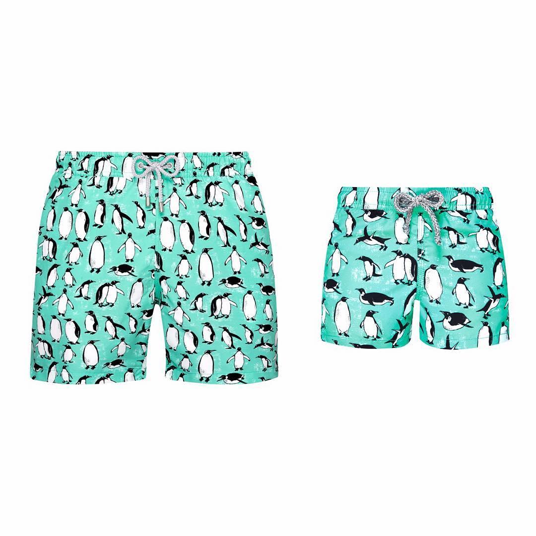 men's swim trunks from blue mint