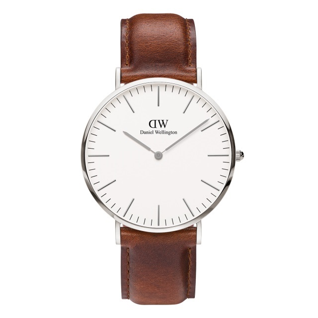 Classic St Mawes 40mm mens watch from Daniel Wellington