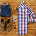 Plaid, Denim and Suede