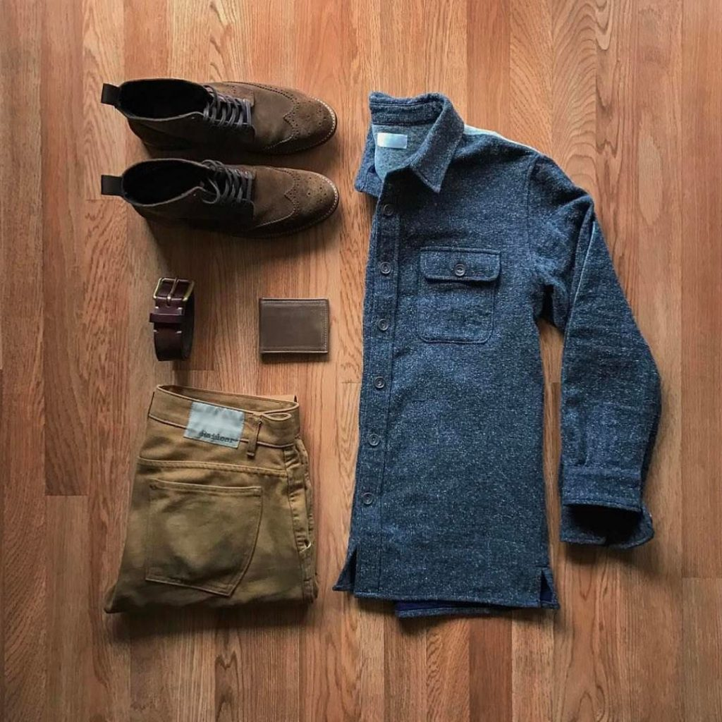 great rustic outfit for men