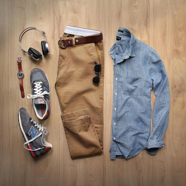 great summer night outfit for men