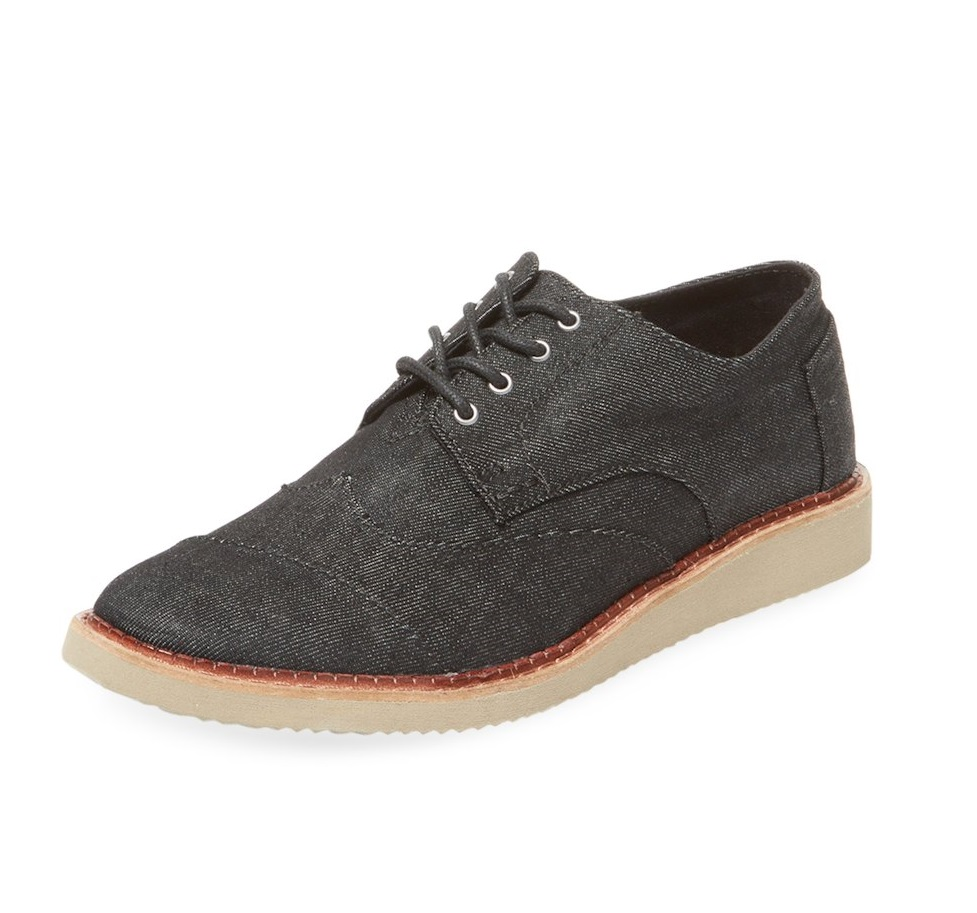 TOMS denim low top sneakers