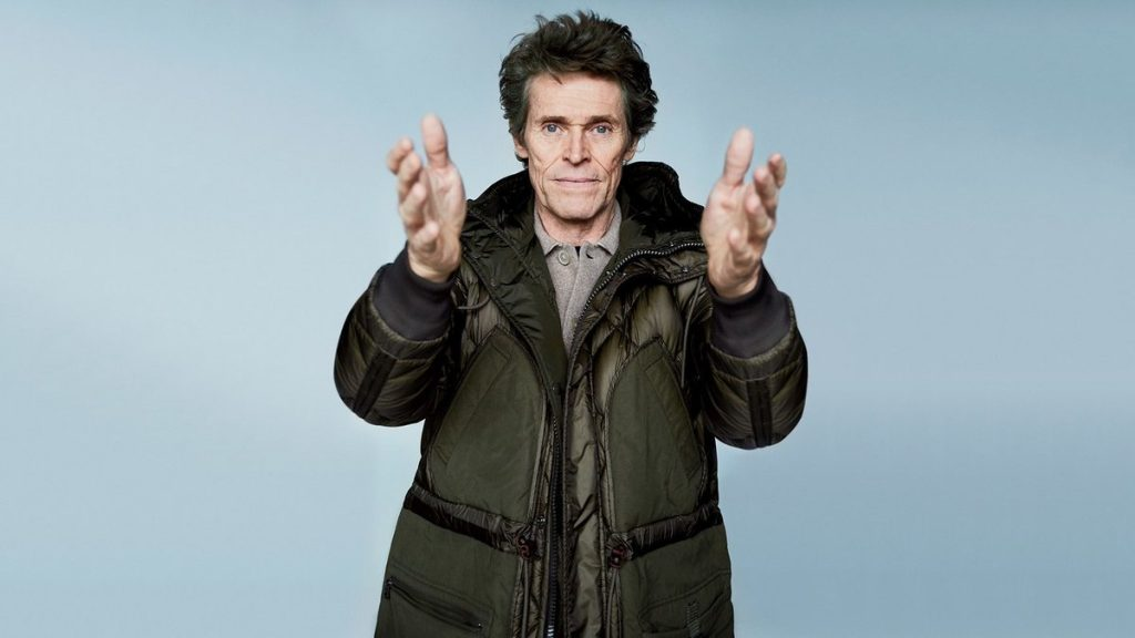 willem dafoe warm winter parkas for gq style