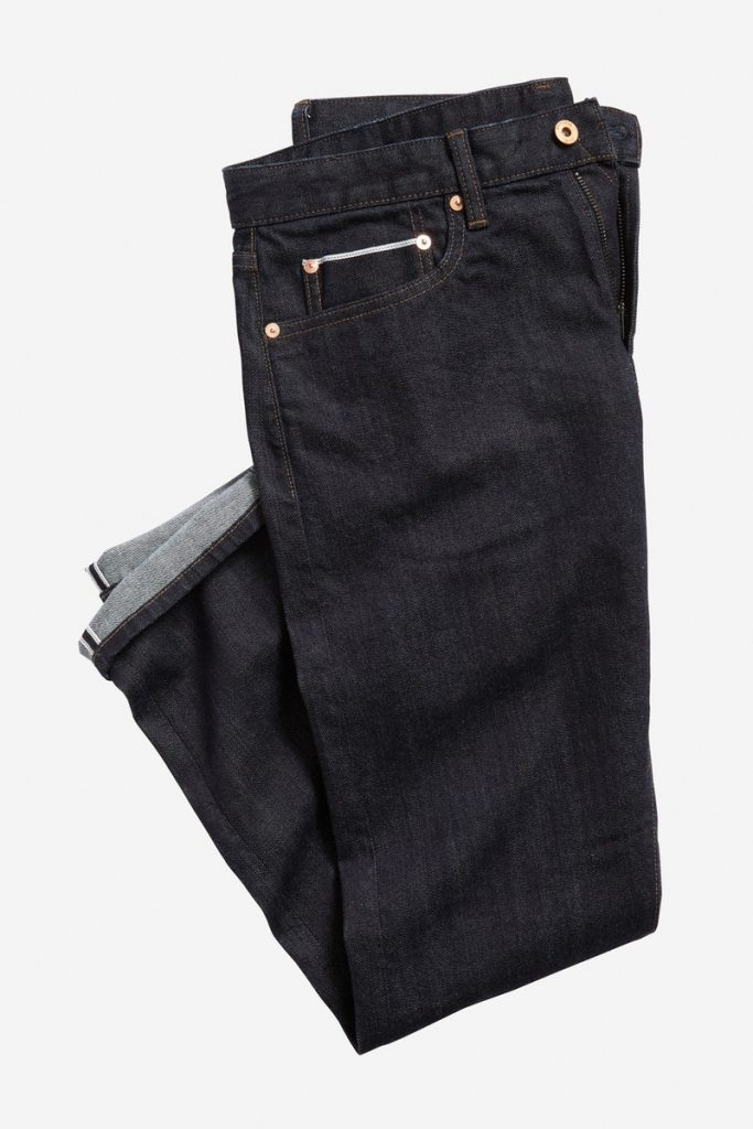Bonobos selvage stretch men's jeans