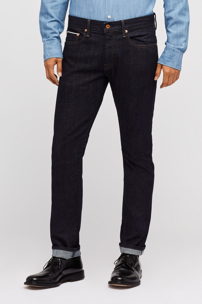 Bonobos selvage stretch men's jeans, front