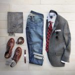 Wool Blaze, Jeans, Boots and Scarf. Fabulous Men's Outfit :)