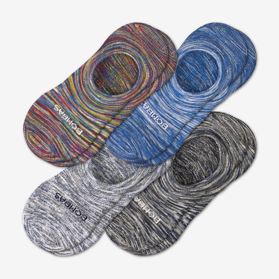 bombas no show socks space-dyes-grid