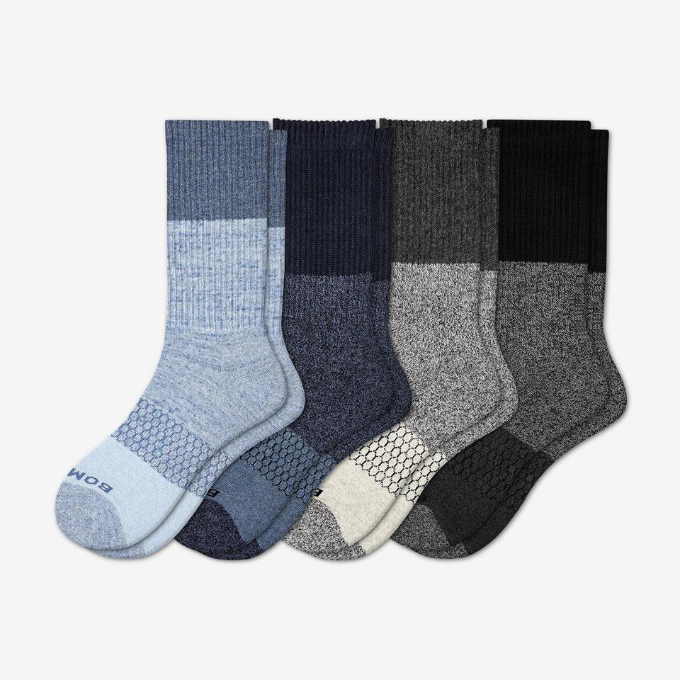 bombas mixed calf socks