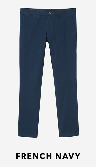 bonobos lightweight chinos french navy