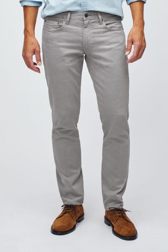 bonobos mens travel jeans grey