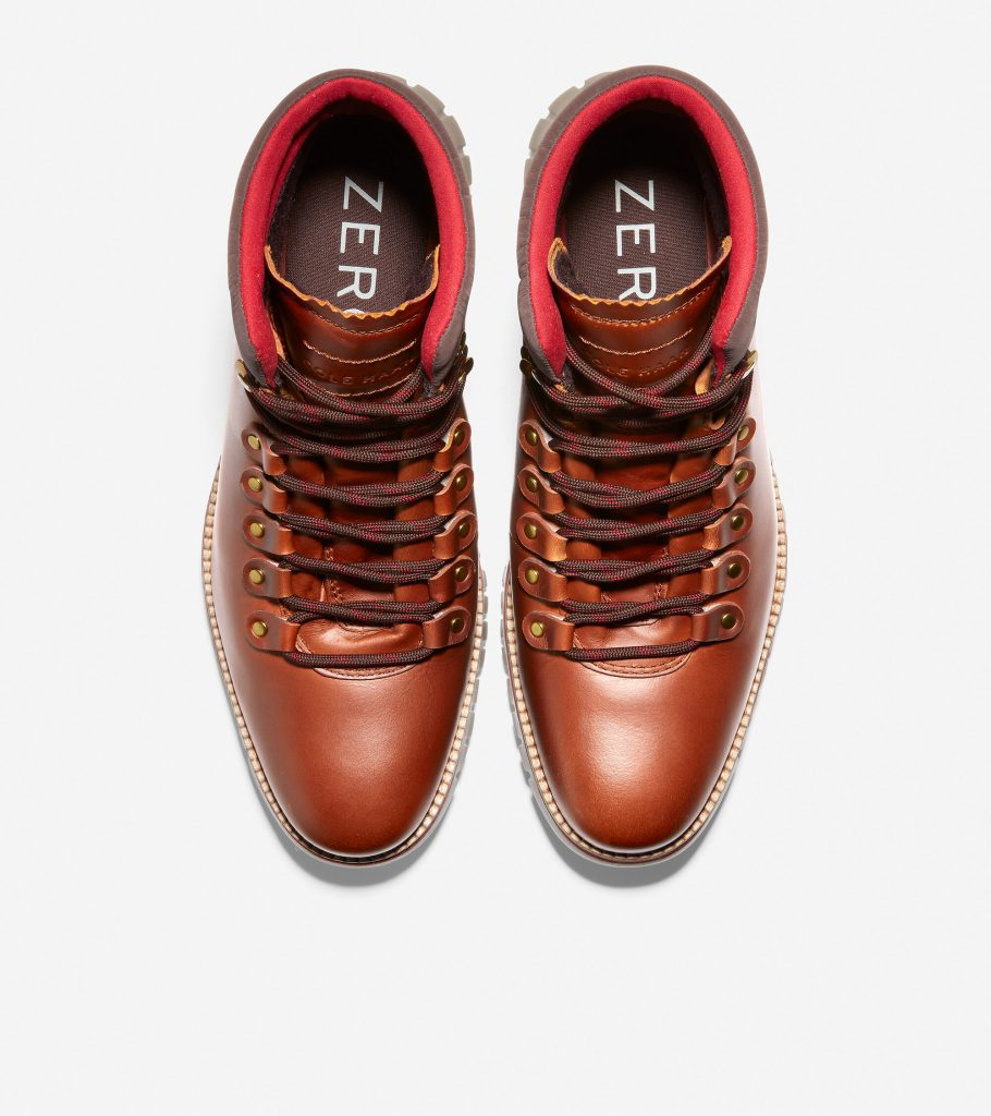 men's cole haan ZERØGRAND Hiker Boot leather